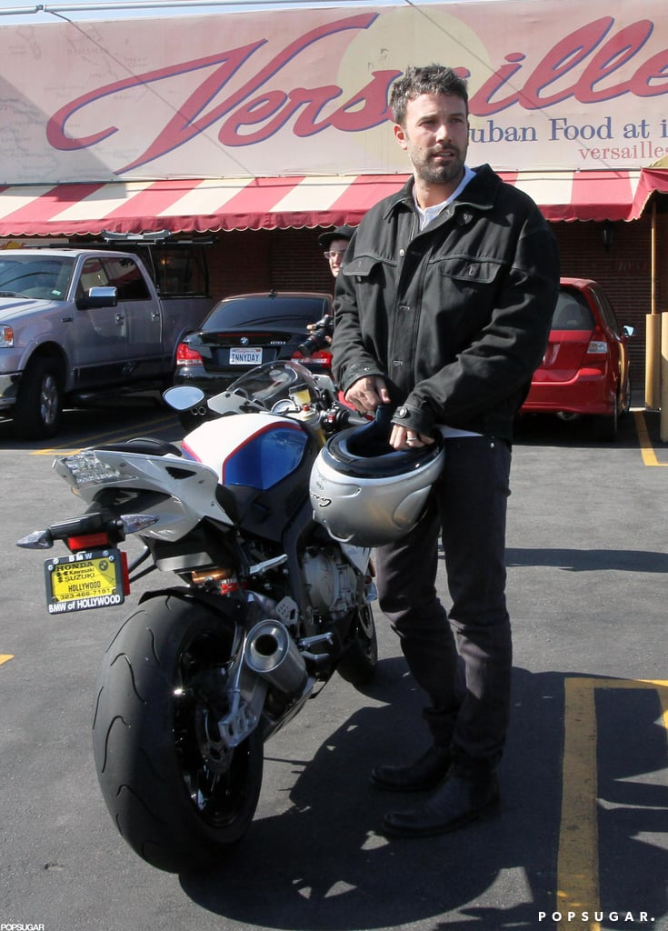 Ben Affleck took his motorcycle for a spin in September as he made a trip to an LA Cuban restaurant for lunch.
