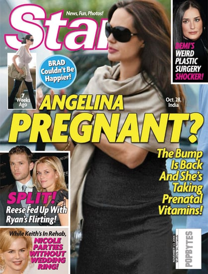 New Angelina Pregnancy Rumors