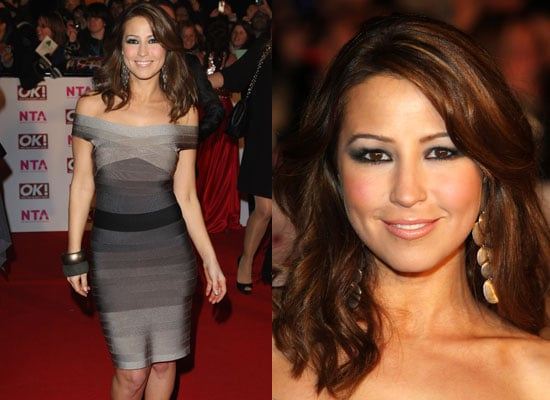Rachel Stevens Makeup at The 2008 National Television Awards in London