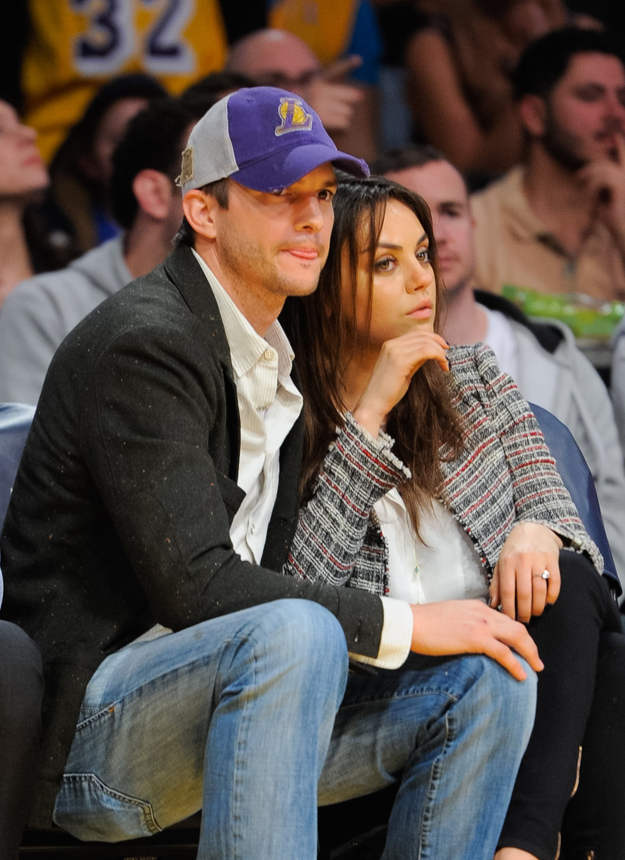 Mila and Ashton's PDA Moments Are Only Getting Cuter