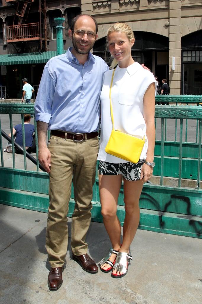 Gwyneth Paltrow visited Paris Photo in LA on Sunday.