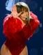 Jennifer Lopez danced her way through the performance.