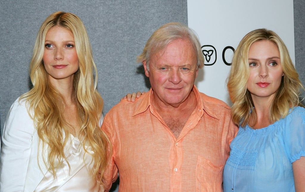 Gwyneth Paltrow, Sir Anthony Hopkins and Hope Davis chatted with press about Proof in 2005.