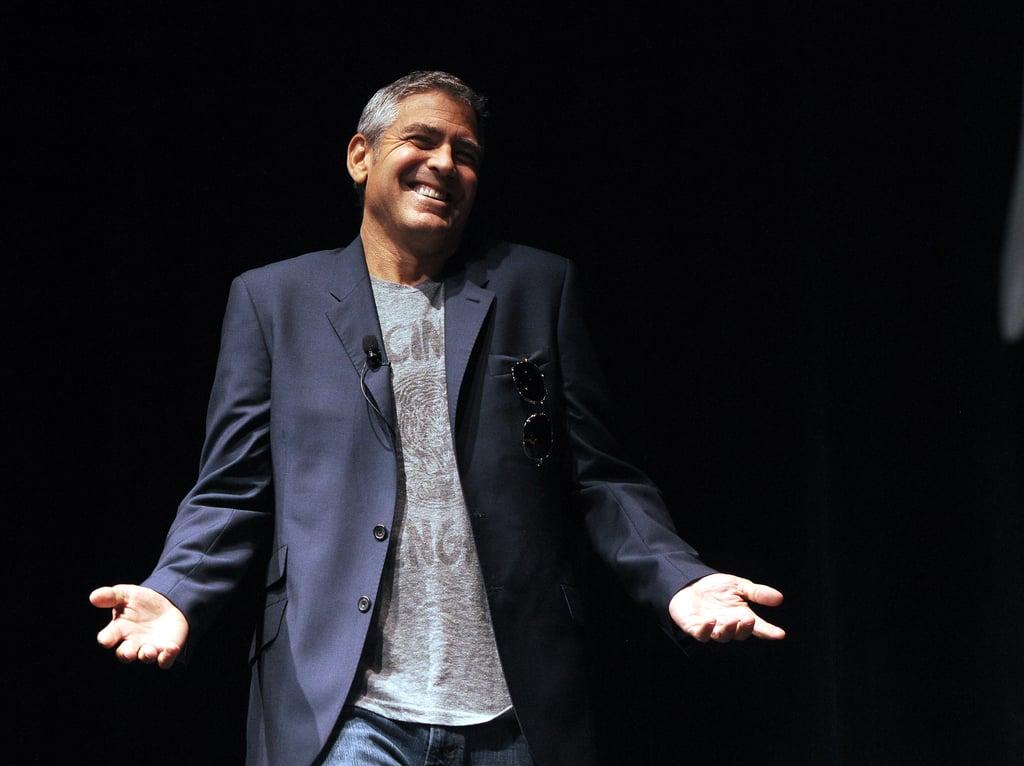 George Clooney vs. Russell Crowe