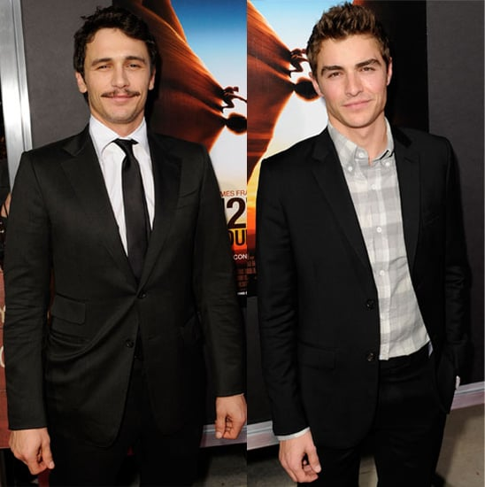 Pictures of James Franco and Dave Franco at 127 Hours Hollywood Premiere