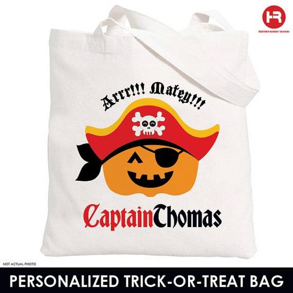 Pirate Treat Bag
