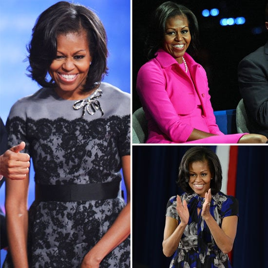 The election is getting closer, and Michelle Obama's looks kept rolling in. We picked out our 30 favorite outfits.