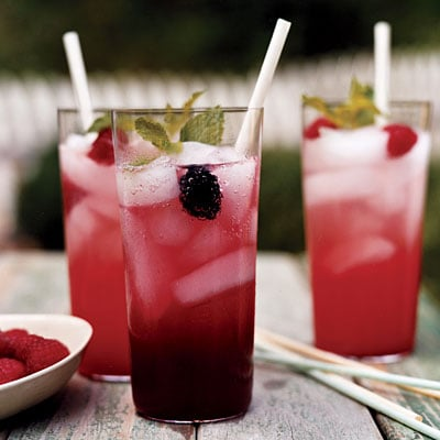 Nonalcoholic Berry-Lemon Sparkler Recipe