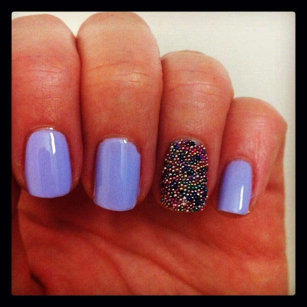Alison rocked Hello Darling's Nail Rock (and taught us all how to do the same).