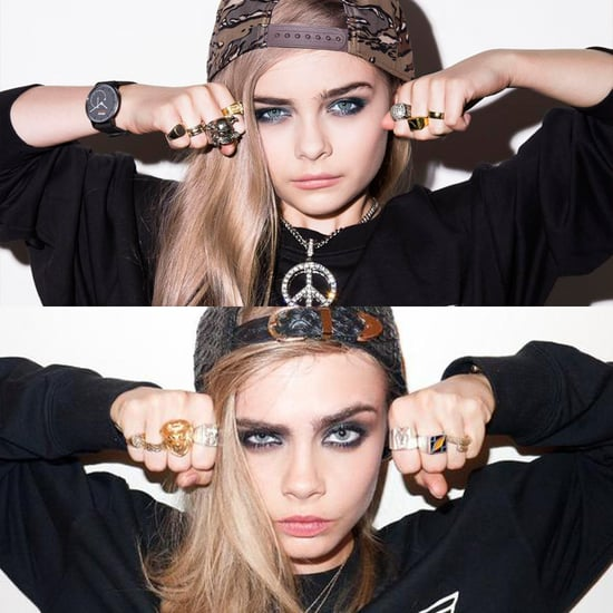 Child Models Re-Create Cara Delevingne and Kate Moss Ads