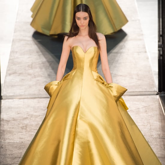 Disney Princess Dresses at Couture Week Autumn 2016
