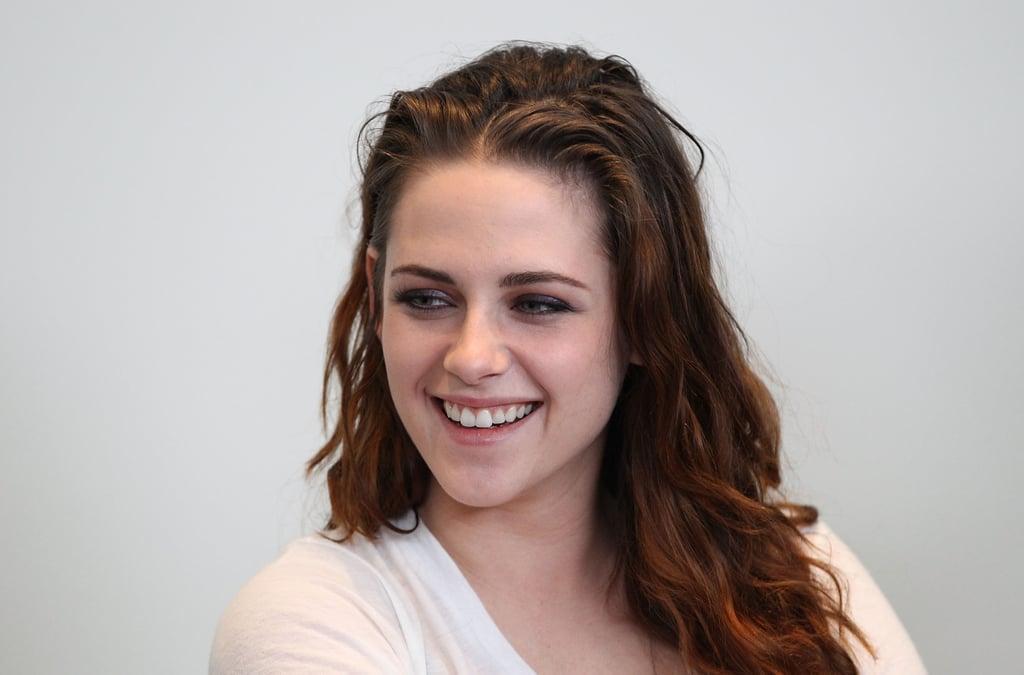 Kristen Stewart smiled at the Variety Studio in LA.