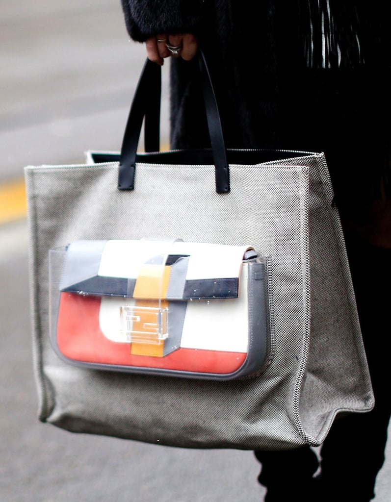 How cute is this two-in-one tote bag?