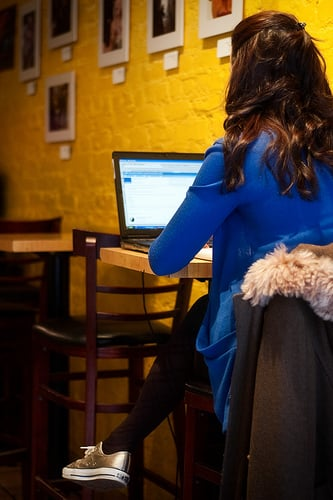 Fewer Alcoholic Writers, More Novelists Working at Cafes