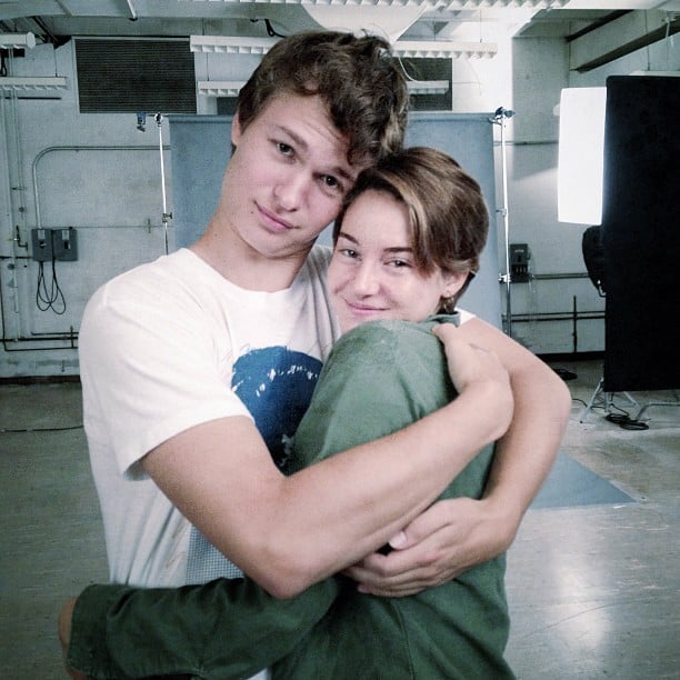 When He and Shailene Woodley Gave Us All Friendship Goals