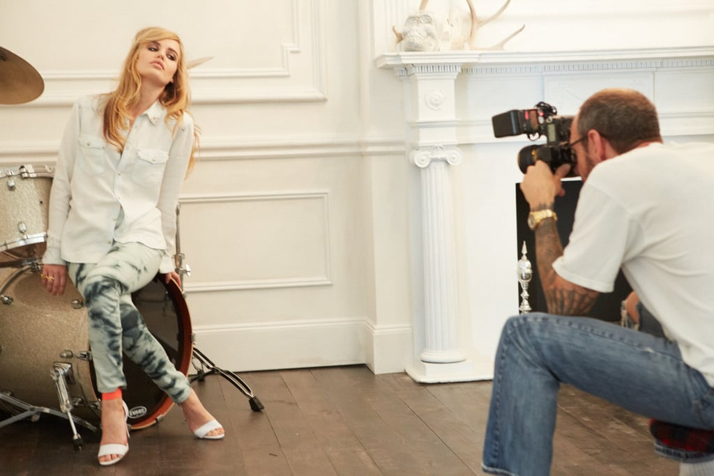 Georgia May Jagger and Terry Richardson