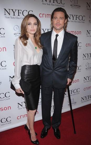 Brad Pitt and Angelina Jolie Take Their Award Season Tour to the East Coast