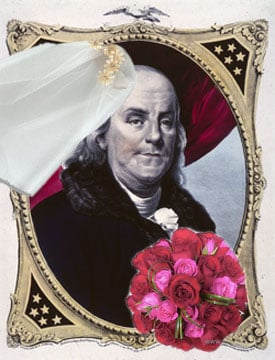 It's True! Benjamin Franklin to Marry Betsy Ross on July 3