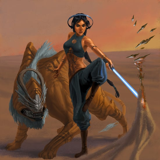 Disney Princesses as Star Wars Jedis