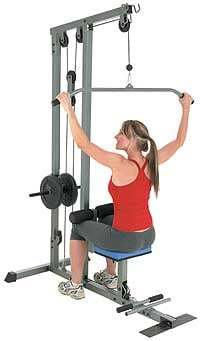 Back Off: Lat Pulldown Machine
