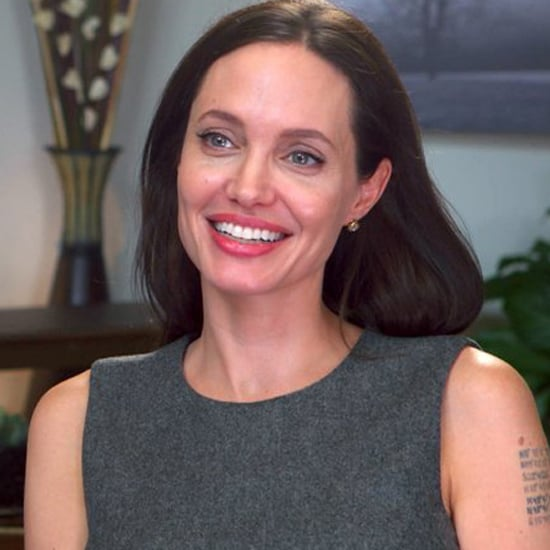 Angelina Jolie Today Show Dress 2015