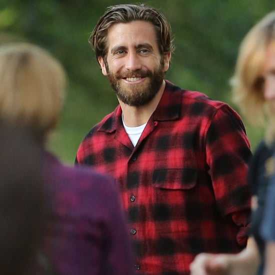 Jake Gyllenhaal on Nocturnal Animals Set | Pictures
