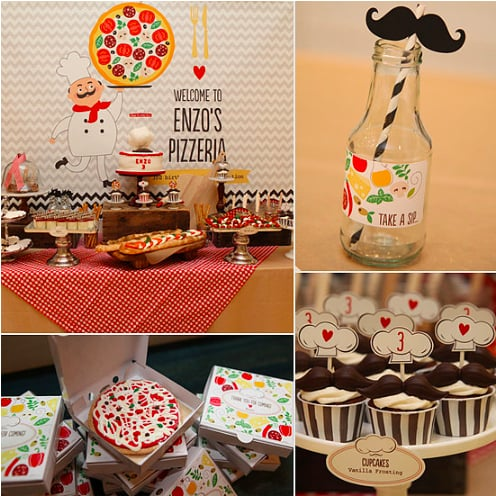 A Pizza-Themed Party