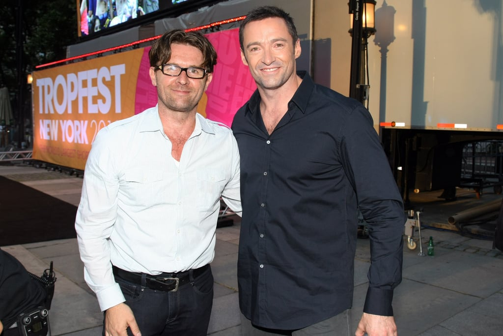 John Polson and Hugh Jackman