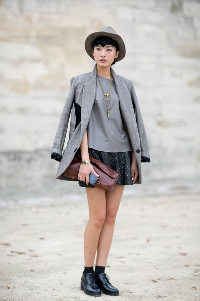 Boy-meets-girl perfect style.