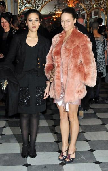 Actresses Alyson Paradis and Vanessa Paradis