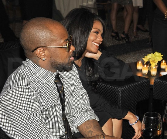 Photos of Janet Jackson and Jermaine Dupree Reunited in Milan For Fashion Week