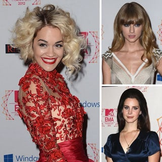 Celebrity Pictures from the MTV Europe Music Awards