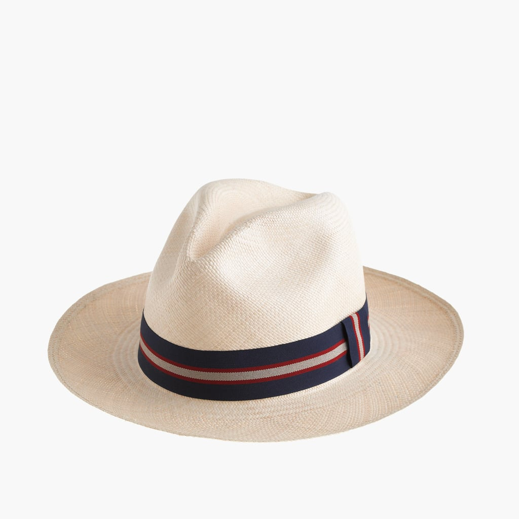 Paulmann Panama Hat With Striped Band ($65)