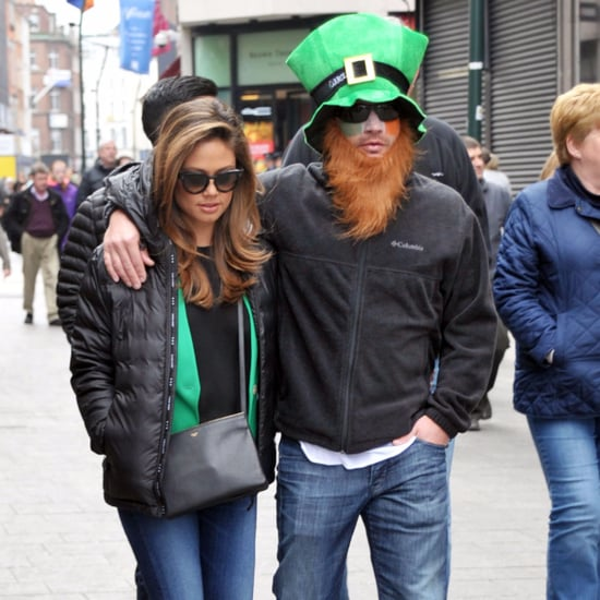 Nick and Vanessa Lachey St. Patrick's Day 2016