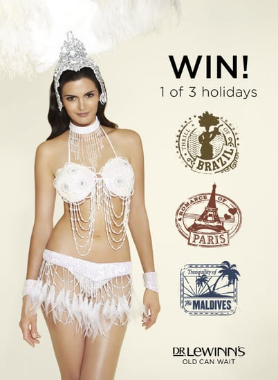 Win a Trip to Paris, Brazil or The Maldives with Dr Lewinn's Old Can Wait Campaign