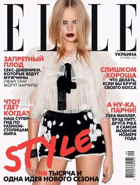 Elle Ukraine September 2012
