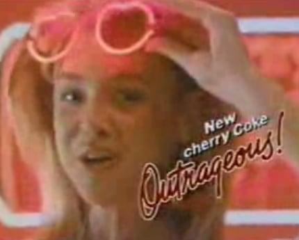 1985 Cherry Coke Commercial