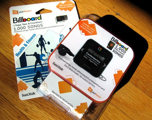 Review of the slotRadio Music Player by Sansa