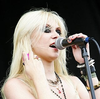 July 2010: Performing with The Pretty Reckless at the VANS Warped Tour in San Antonio