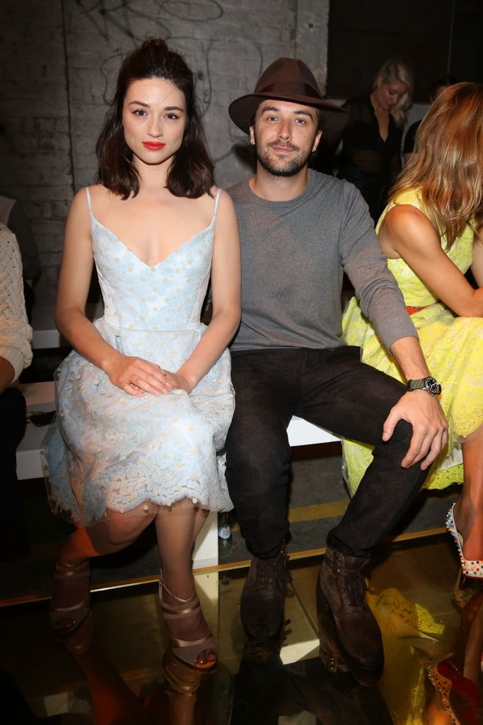 Crystal Reed and Darren McMullen at MBFWA Day Two