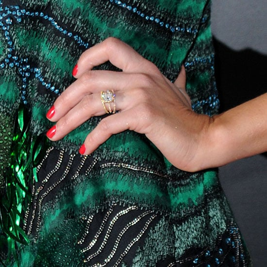 Celebrity Engagement Rings (Pictures)