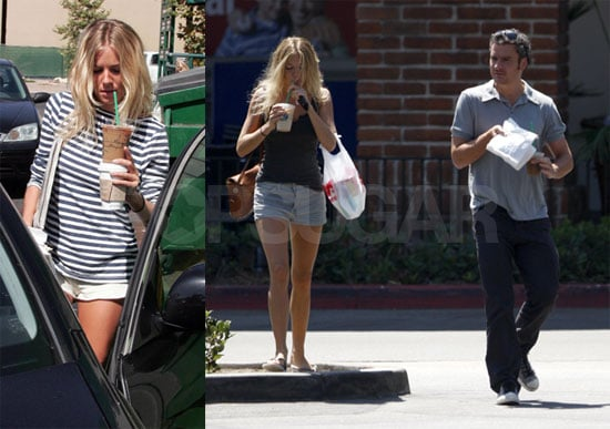Photos of Sienna Miller and Balthazar Getty Together in Malibu