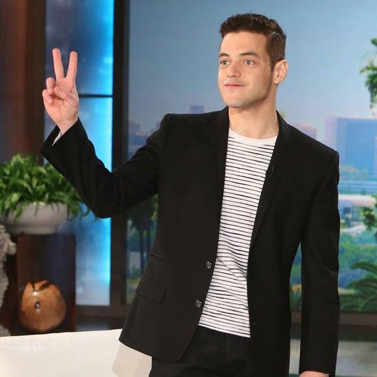 Rami Malek on The Ellen DeGeneres Show January 2016