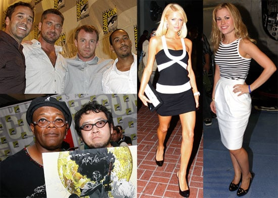 Photos From 2008 Comic-Con Including Paris Hilton, Keanu Reeves, Gerard Butler, and More