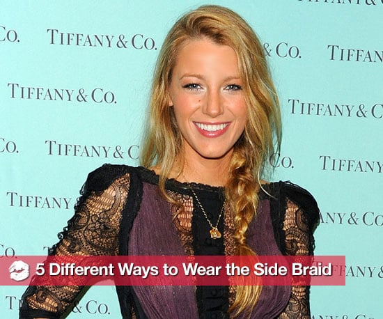 Different Ways to Wear the Side Braid 2010-11-12 08:00:00