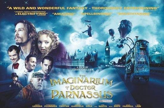 The Imaginarium Of Doctor Parnassus Poster, Terry Gilliam Talks About Heath Ledger's Last Role