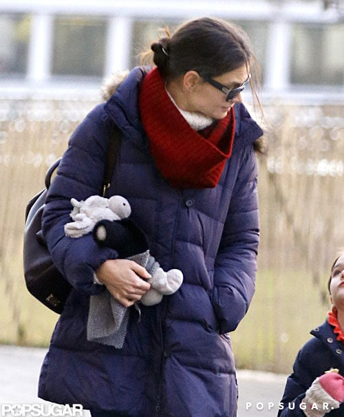 Katie Holmes and Suri Cruise Slide Into Their New Weekly Routine