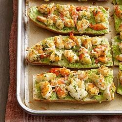 Fast & Easy Dinner: Shrimp Scampi Pizzas