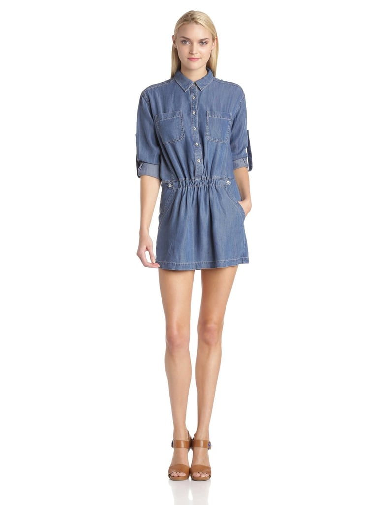 The Long-Sleeved Denim Dress