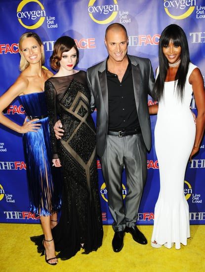 Supermodels Flock to The Face's Pre-Fashion Week Premiere